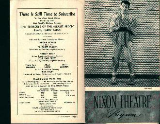 Nixon Theatre-Anastasia! 10/31/55