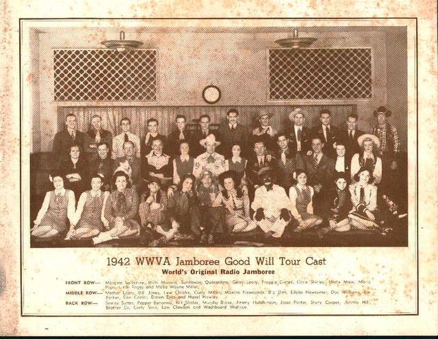 1942 West Virginia Jamboree Tour Photo!