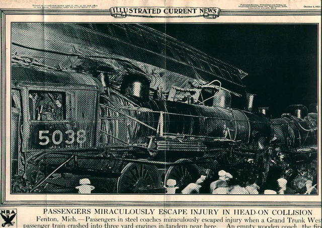 Poster of Railroad Head On Collision!