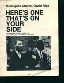 Campaign Literature with Dr. King on Cover!