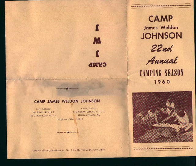 Camp Weldon James Johnson Brochure!