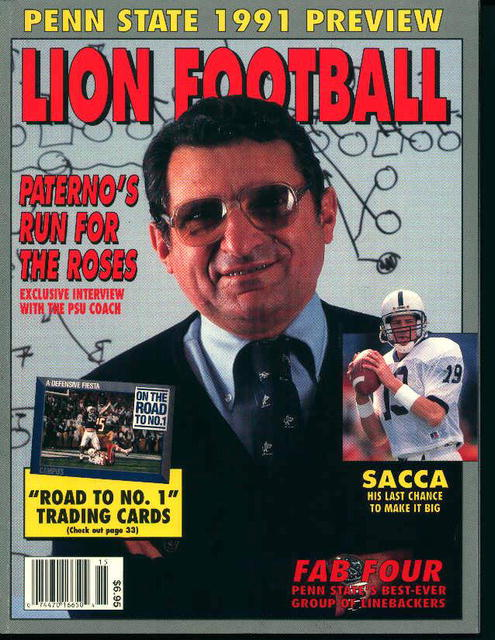 Lion Football 1991 Penn State Preview!