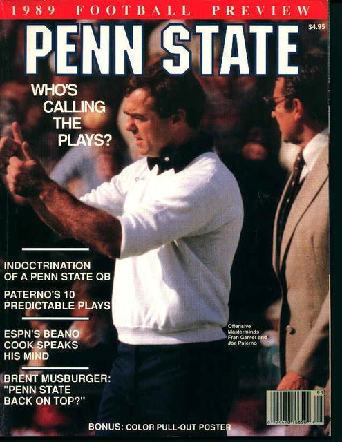 Penn State 1989 Football Preview!