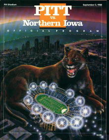 Pitt vs. Northern Iowa September 3,1988!