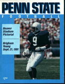 Penn State vs. Brigham Young Sept 21,1991