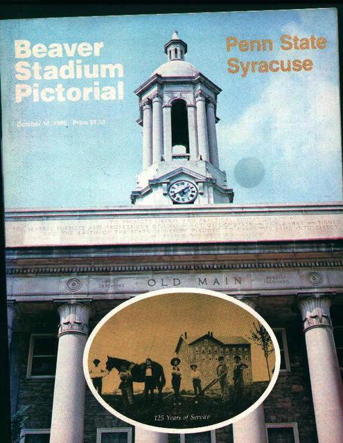 Penn State vs. Syracuse 10/18/80!