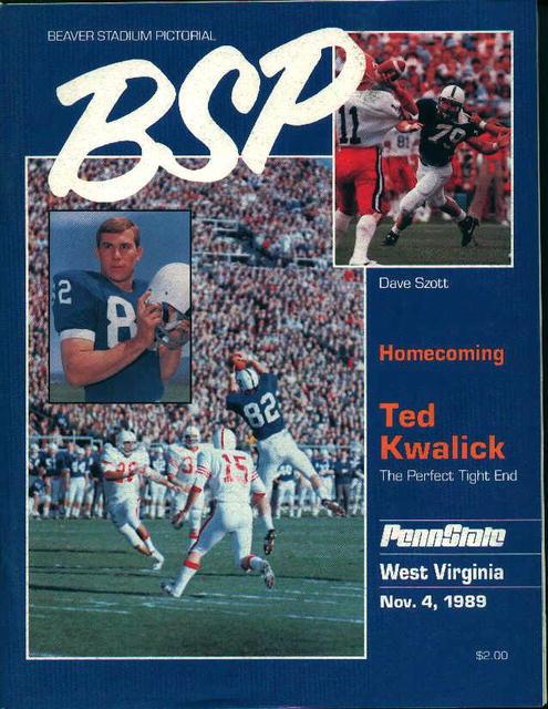 Penn State Vs. Virginia November 4,1989!