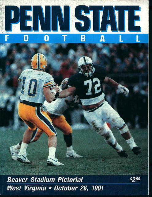 Penn State vs West Virgina Oct 26,1991!