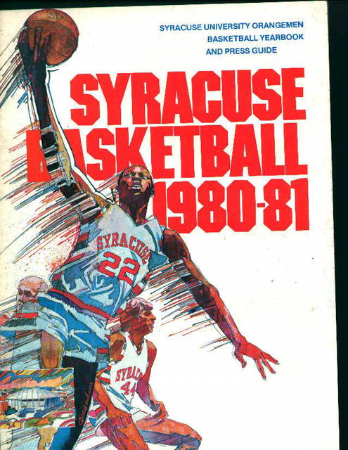 Syracuse Basketball 1980-81 Media Guide!