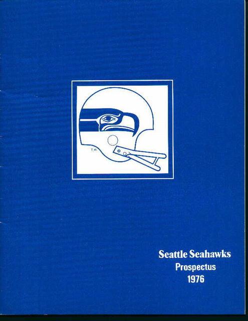 Seatlle Sehawks 1976 Prospectus! Photos!Stats