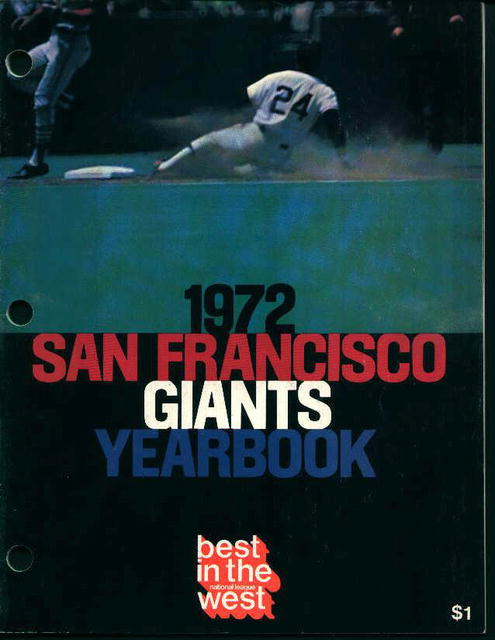 Giants 1972 Yearbook! Great Photos and Ads!