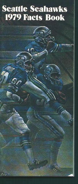 Seattle Seahawks 1979 Facts Book!