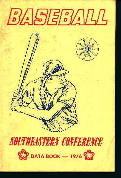 Baseball Southeastern Conference-1976