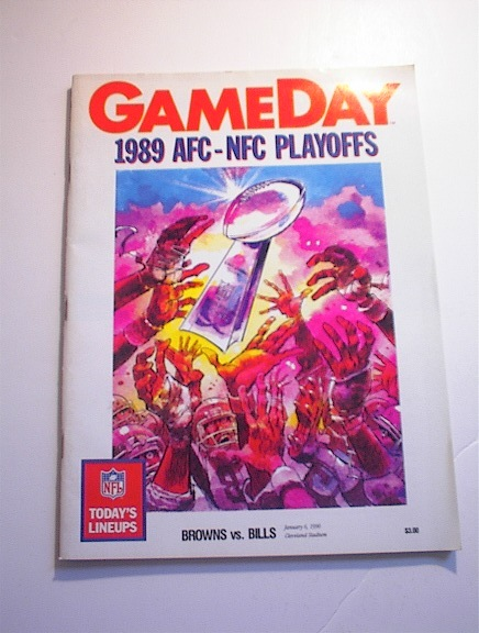 GAMEDAY 1989 AFC-NFC Playoffs Brown vs Bills