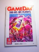 GAMEDAY 1989 AFC-NFC Playoffs Brown vs Bills