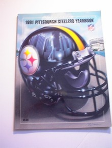 1991 PITTSBURGH STEELERS YEARBOOK