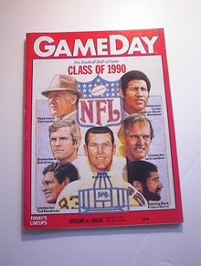 GAMEDAY STEELERS vs EAGLES Sept 1,1990