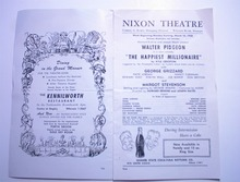 1972 Nixon Theatre Program,Walter Pidgeon