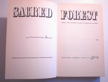 The Sacred Forest by Pierre Dominique Gaissea