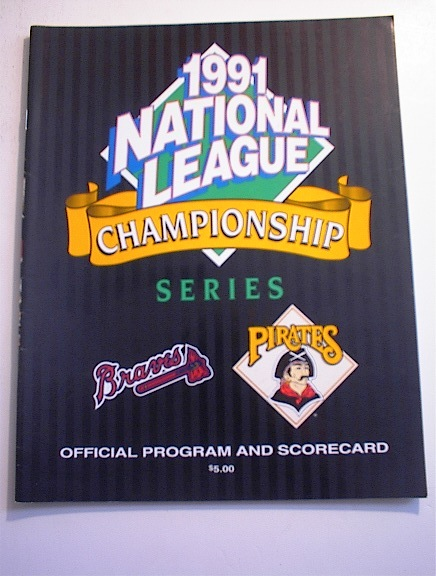 1991 National Championship Pirates vs Braves
