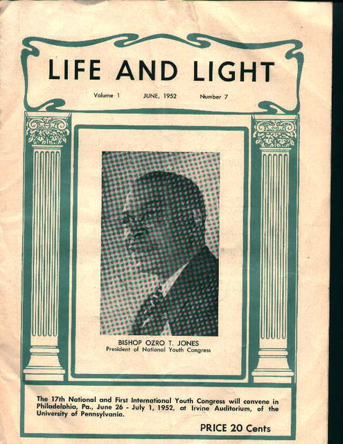 Life and Light From 6/52 Vol.1 No.7