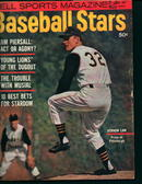 Baseball Stars 1/61-Vernon Law,Pier-on Cover!