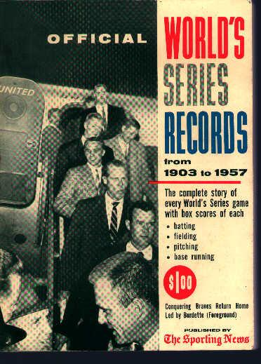 Official World Series Records from 1903-57!
