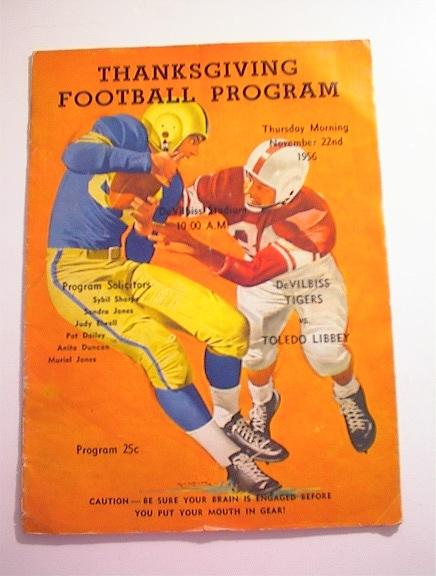 DeVilbiss Tigers vs Toledo Libby 11/22/1956