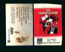 1974 College and Pro Football from UP Railrod