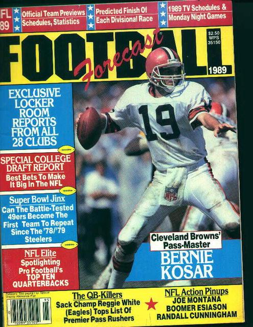 Football Forecast 1989! BernieKosar,SuperBowl