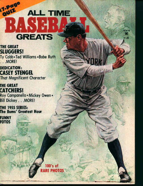 All Time Baseball Greats-Ted Williams,Ty Cobb