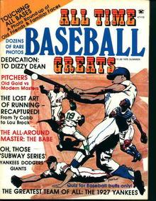 All Time Baseball Greats-Lou Brock,Dizzy Dean