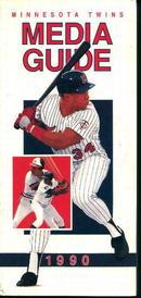 Minnesota Twins 1990 Media Guide! Schedule!