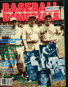 Baseball Immortals-Ruth,Mantle,Campenella,Mor