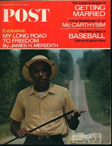 Saturday Evening Post-8/13/66-James Meridith