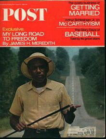 Saturday Evening Post-8/13/66-James Meridith