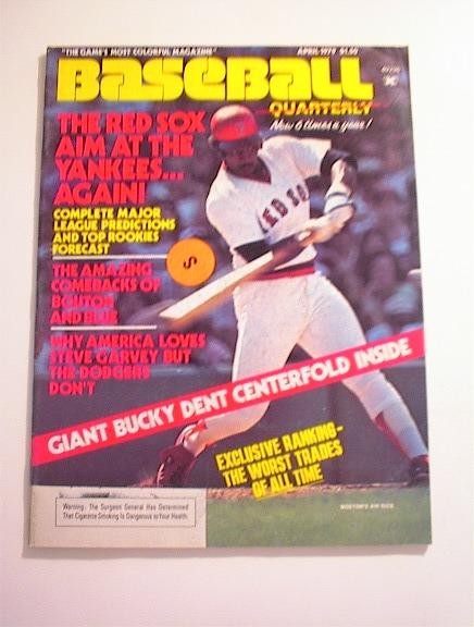 BASBALL Quarterly,4/1979,Bucky Dent,Jim Bouto