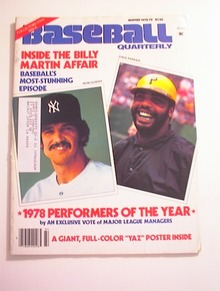 BASEBALL Quarterly,Winter 1978-79,Dave Parker