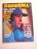BASEBALL Quarterly,Summer 1978,Pete Rose!!