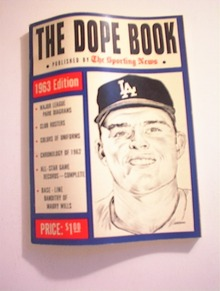 The Dope Book/The Sporting New,1963 Edition