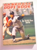 1972Baseball Dope Book/The Sporting News
