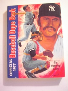 1977 Baseball Dope Book/The Sporting News