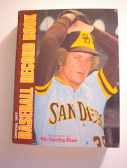 1977 Offical Baseball Record Book