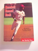 1975 Offical Baseball Record Book,Lou Brock