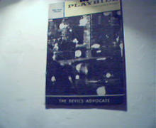 Playbill-3/20/61- Devils Advocate, A.Cantor