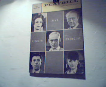 Playbill-4/11/60-Five Finger Excercise!L Horn