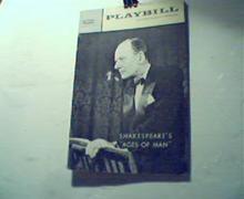Playbill-8/15/63-John Gielgud Reads AgesMan!