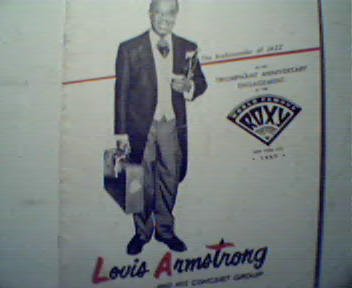 Louis Armstrong and His Concert Group!