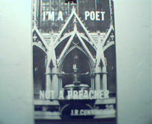 I'm a Poet Not a Preacher by J.R. Cunningham