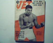 Jet=9/3/70-Muhammad Ali on Cover! Patton Pro